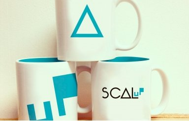 Logotipo SCAL UP